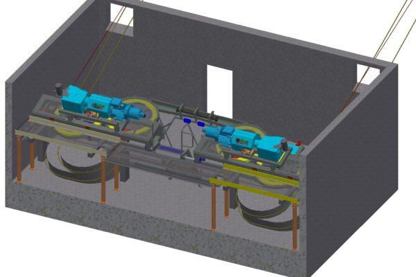Seilbahnen Engineering Antrieb