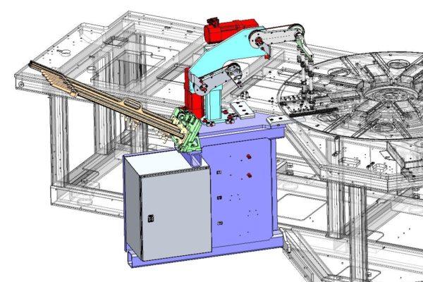 Maschinenbau Handling